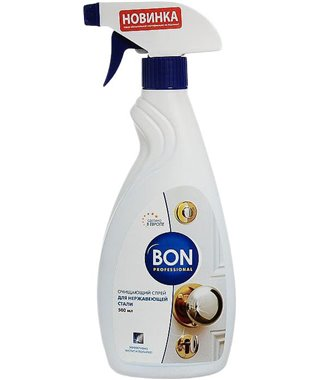Очищающий спрей для нержавеющей стали Bon BN-175, 500 мл
