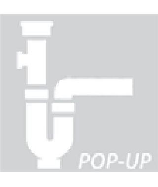 Alveus 114-PP-Popup 1127254, квадратный, с переливом