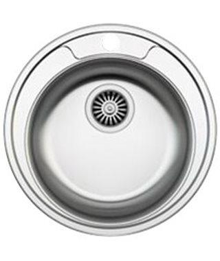 Кухонная мойка Zigmund & Shtain KREIS 480.7, нерж.сталь полированная