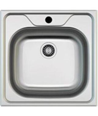 Кухонная мойка Zigmund & Shtain PLATZ 500.6, нерж.сталь полированная