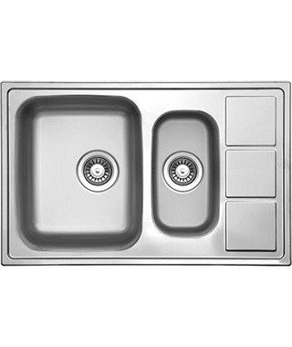 Кухонная мойка Florentina Профи 780.500.1К.08, полированная